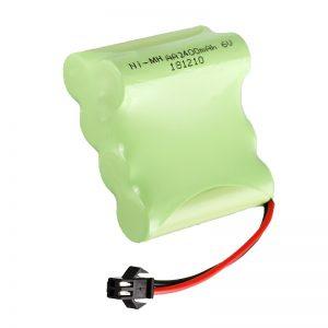 NiMH polnilna baterija AA2400 6V polnilna električna orodja za igrače Battery Pack