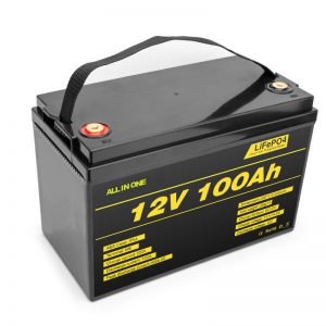 LiFePO4 baterija litijeva celica 12v 100ah globokokonturna baterija