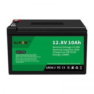 12.8V 10Ah LiFePO4 Zamenjava svinčeve kisline litij -ionska baterija 12V 10Ah