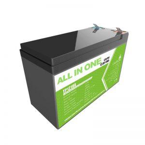 Zamenjajte svinčeno-gelsko baterijo 12V 10Ah Litij-ionsko baterijo za majhno zalogo energije
