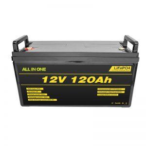 Litijeva baterija Lifepo4 BMS 12v 120ah Litij-ionska baterija Lifepo4 12v