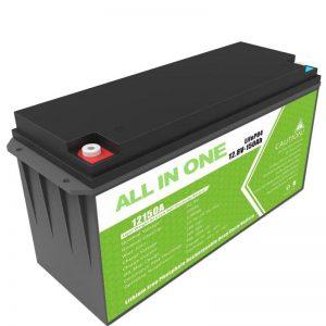 Litijeva baterija velike kapacitete 12,8 v 150ah za domače sončno shranjevanje