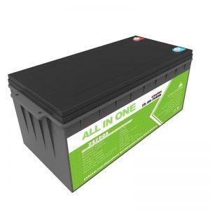 Dolgožična akumulatorska rezervna baterija LiFePO4 12,8v 200ah za golf voziček