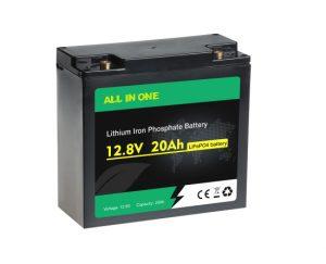 Litij -ionska baterija za polnjenje Deep Cycle Lifepo4 12V 20AH OEM
