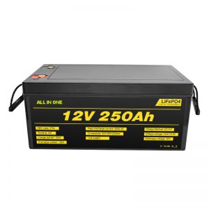Najbolj priljubljene najboljše baterije za sončni sistem vsebujejo 12V 250Ah LiFePO4 litij-ionsko baterijo