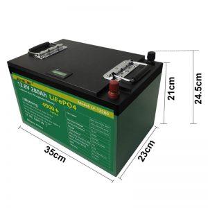 12V 280Ah 300Ah Lifepo4 baterija za golf voziček