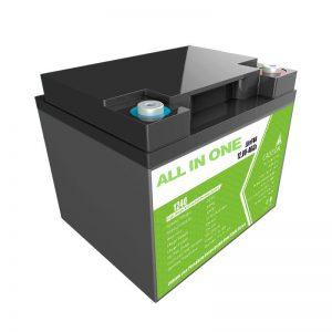 Tovarniška cena 12,8V 40Ah svinčeno-kislinska zamenjava za shranjevanje energije gospodinjskih aparatov