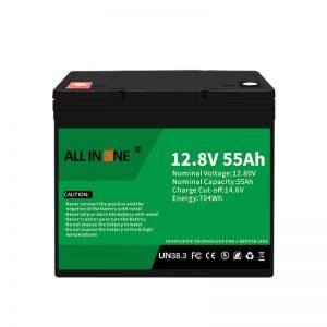 Zamenjava baterij LiFePO4 za svinčeno -kislinsko baterijo 12V 55Ah