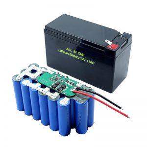 VSE V ENEM 18650 3S5P 12V voltna litijeva baterija 11Ah polnilna litijeva baterija