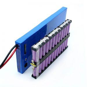 Vse v enem na debelo 12S2P 18650 li -ionska baterija 44,4V 6Ah za električno rolko