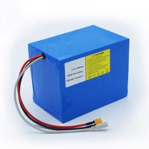 Litijeva baterija 18650 48V 20,8AH za električna kolesa in komplet za kolesa