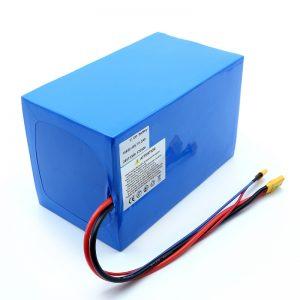 Litijeva baterija 18650 48V 51.2AH 24v 30V 60V 15ah 20Ah 50Ah Li-ionske baterije 18650 48V litij-ionska baterija za električni skuter
