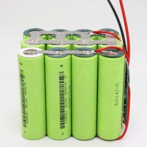 Veleprodajna prilagojena 18650 litijeva 4s3p nepremočljiva PCB plošča za globoki cikel 12v 10AH za električno orodje
