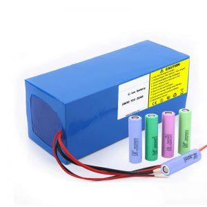 Litijeva baterija 18650 72V 20Ah Nizka hitrost samo praznjenja 18650 72v 20ah litijeva baterija za električne motocikle