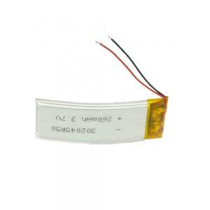 LiPO baterija po meri 302045 3,7 V 260mAh