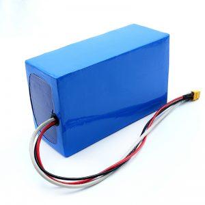 Litijeva polnilna baterija 36V 10Ah Li -on 18650 za rolkanje