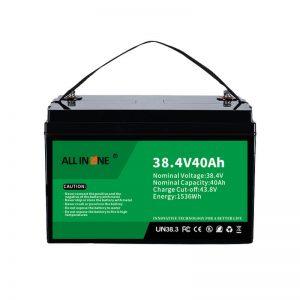 8.4V 40Ah litij -železov fosfatna baterija za VPP/SHS/pomorska/vozila 36V 40Ah