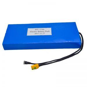 Trgovina na debelo 15Ah 48V litijeva baterija za električni skuter