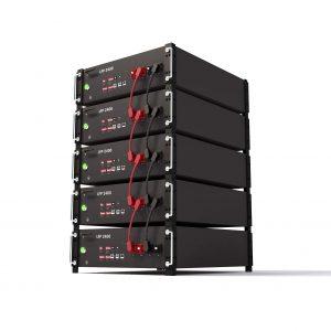 Močna stenska litijeva baterija LiFePO4 48V 200ah 10kwh powerwall za domači sončni sistem