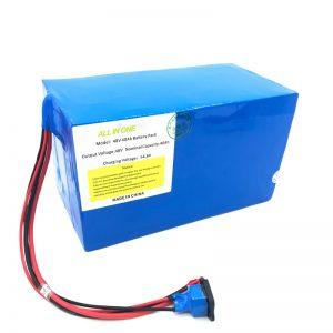 Prilagojena litijeva baterija 18650 48V 40Ah za e-kolo, e-čoln, električni skuter