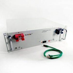 Vse v enem litij -ionska baterija 48v sončna shramba litijeva baterija 50Ah 100Ah 200Ah litij -polimerna baterija za sončno energijo