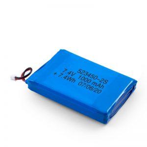 LiPO polnilna baterija 523450 3,7 V 1000mAH / 7,4V 1000mAH / 3,7 V 2000mAH
