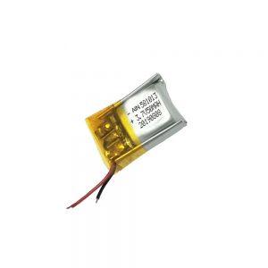 Kakovostna litij-polimerna baterija 3,7 V 50 mAh 581013 baterija