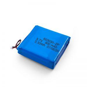 Po meri polnilna 3.7V 450 530 550 700 750 800 900Mah Li-Po Lipo baterija