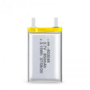 LiPO polnilna baterija 603048 3.7V 850mAh / 3.7V 1700mAH / 7.4V 850mAH