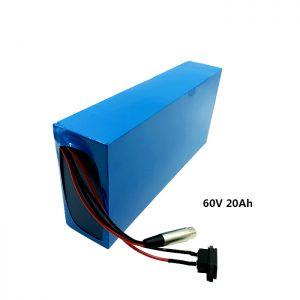 Prilagojena baterija za polnjenje 60v 20ah EV litijeva baterija
