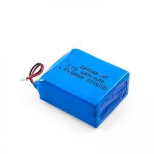 LiPO polnilna baterija 624948 3,7 V 1800mAH / 3,7 V 5400mAH