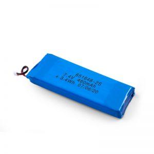 LiPO polnilna baterija 651648 3,7 V 460mAh / 3,7 V 920mAH / 7,4V 460mAH