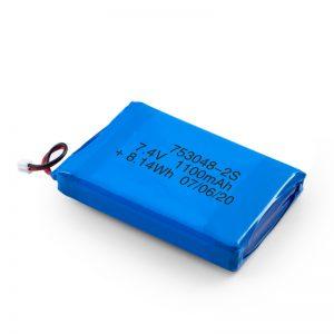LiPO polnilna baterija 753048 3,7 V 1100mAh / 7,4V 1100mAH / 3,7 V 2200mAH