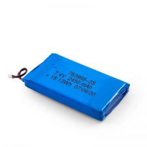 LiPO polnilna baterija 783968 3.7V 4900mAH / 7.4V 2450mAH / 3.7V 2450mAH /