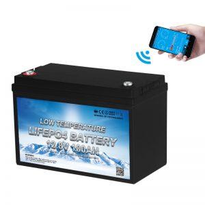 Nizkotemperaturna baterija LiFePO4 12V 100AH