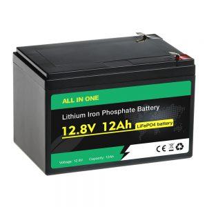 12V 12Ah komplet nadomestna svinčevo -kislinska baterija LiFePO4 baterija
