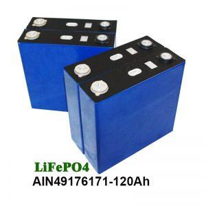 LiFePO4 Prizmatična baterija 3.2V 120AH za UPS solarnega sistema