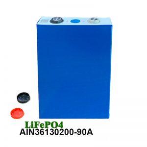 LiFePO4 Prizmatična baterija 3.2V 90AH lifepo4 akumulatorska polnilna baterija za avtomobilska električna orodja električni invalidski voziček