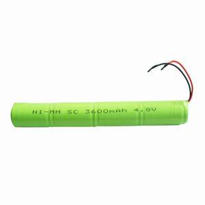 NiMH baterija za ponovno polnjenje SC 3600mAH 4,8 V