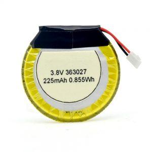 LiPO baterija po meri 363027 3,7 V 225mAH
